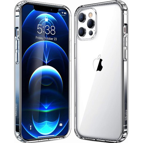 Mkeke iPhone 12/12 Pro Clear Case
