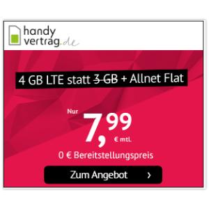 每个月可以解约逆天价:包月电话、短信、4GB上网只要7.99欧