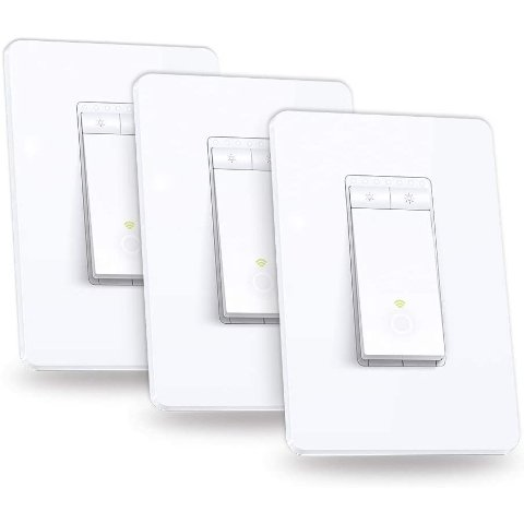 TP-Link Kasa HS220P3 Smart Dimmer Switch 3-Pack