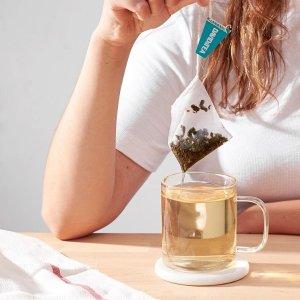 $8.98收经典有机茉莉绿Davids Tea 绿茶专场 喝绿茶延缓衰老的小秘密 快来学习