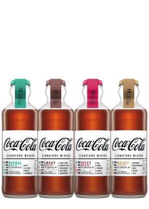 Coca-Cola Complete Collection of Signature Mixers 4 x 200ml - Harvey Nichols