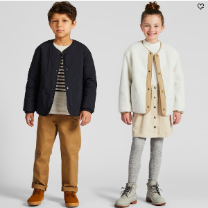 As low as $3.9Uniqlo Kids New Markdowns