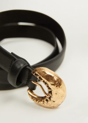 Metal buckle belt -  Women | Mango USA