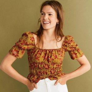 低至1.5折Mango Outlet 简约气质美衣热卖 小香风连衣裙$7,泰迪夹克$19