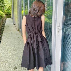 COS38/40/42/44码!无袖褶皱连衣裙