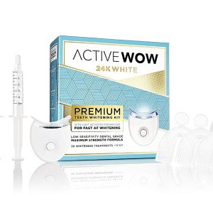 $29.99(原价$79.99)Active Wow 牙齿美白套装 附赠LED照灯