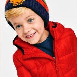 Children's Place官网 儿童保暖棉服 限时特惠