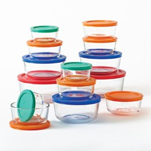 $19.92 Pyrex simply store 28-piece storage set