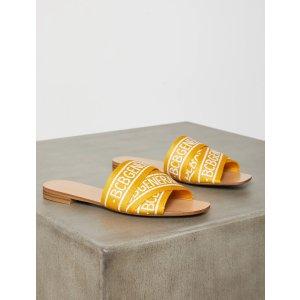 BCBGMAXAZRIAKala Logo Flat Sandal