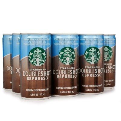 Starbucks Doubleshot Espresso Cream Light 6 5 Ounce 12
