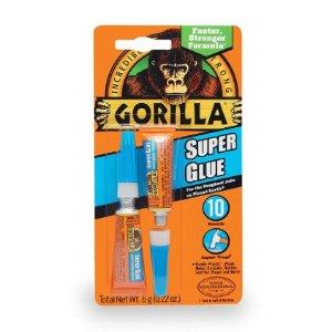 $2.59 销量冠军Gorilla 大猩猩超级万能胶无色