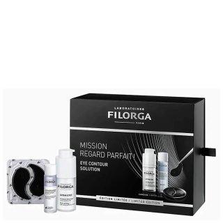 2套免邮中国+赠化妆刷护肤套装Filorga  雕塑眼霜3件套,7.8折到手¥278