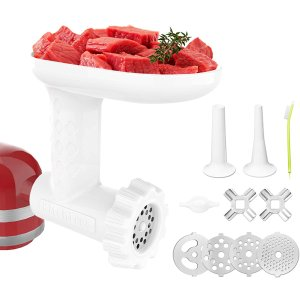 KITCHTREE Food Grinder Attachment for KitchenAid