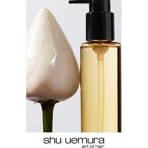 满送3件好礼Shu Uemura 美发护发产品热卖 收山茶花护发油