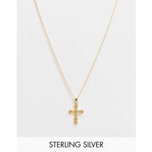 Reclaimed Vintageinspired cross 十字架项链