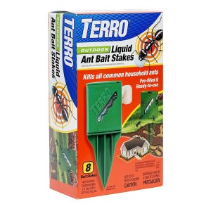 $6.50 Free ShippingTERRO T1812 Outdoor Liquid Ant Killer Bait Stakes - 8 Count (0.25 oz each) @ Amazon