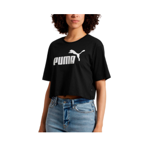PumaWomen's Cropped Logo Tee