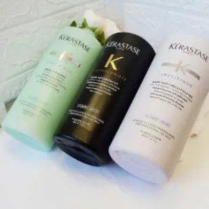 1升装低至€37 收专业护理洗发水Kerastase 卡诗洗发水 超值1000ml装 各种功效 有你所需