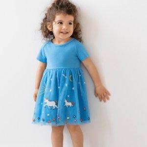 7.5折+新用户额外7.5折Hanna Andersson 全场童装促销 新款首次降价
