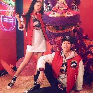 收毛衣、卫衣、棒球服等Moschino X Micky Rat 2020限定款 新春鼠岁喜临门