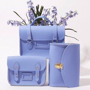 全场8.5折  £51收剑桥包Cambridge Satchel 新款薰衣草紫横空上市 温柔到心坎的颜色