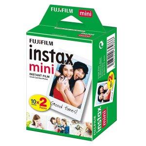 Instax Fujifilm Mini 拍立得白色边框相纸20张