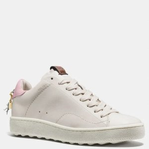 满$500享7折C101 粉尾小白鞋