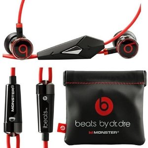 $29Original Beats by Dre iBeats In-Ear Headphones Earphone @ OpenSky