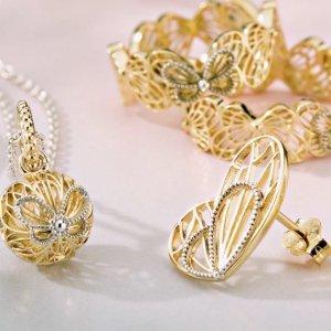 免费两日送达 母亲节送礼好选择限今天:PANDORA Jewelry 全场首饰热卖 心意交织系列上新