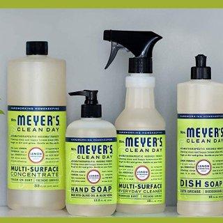 $2.22,包邮史低价:Mrs. Meyer's Clean Day 柠檬马鞭草多表面去污喷雾,16 fl oz