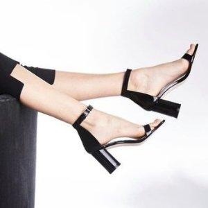 额外8折 一字带$116Stuart Weitzman官网 折扣区美鞋限时促销