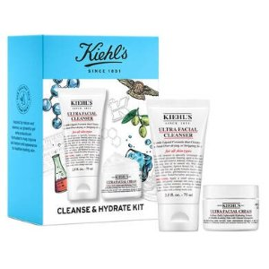 Kiehl's价值$51清洁补水套装