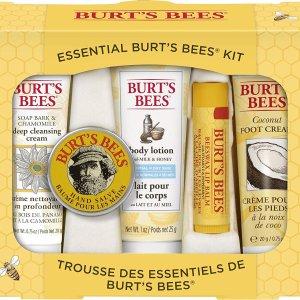 $11.99 (原价$14.99)Burt's Bees 小蜜蜂日常护肤套装5件套