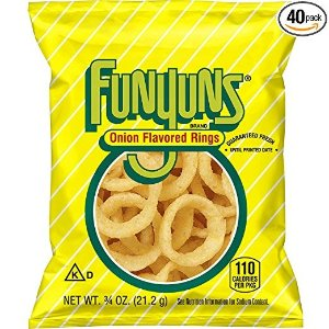 Funyuns Onion Flavored Rings 40包装
