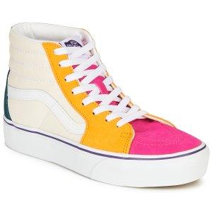 Vans拼色高邦滑板鞋