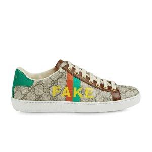 Gucci`Fake/Not` 老花运动鞋