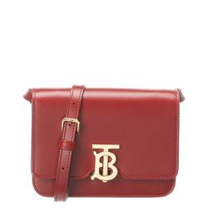 BurberryTB Leather Shoulder Bag