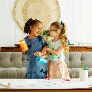 低至68折 $5.41起 一起分享喝水的快乐Munchkin 满趣健 多款童趣水杯促销中 好朋友好杯子