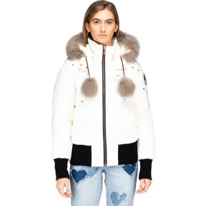 Moose KnucklesYorkdale Bomber - Snow white/Sly