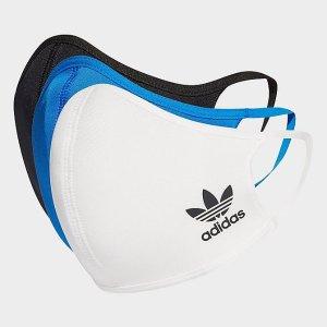 Adidas运动防尘口罩 3只