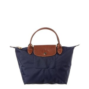 LongchampLe Pliage藏蓝色短柄