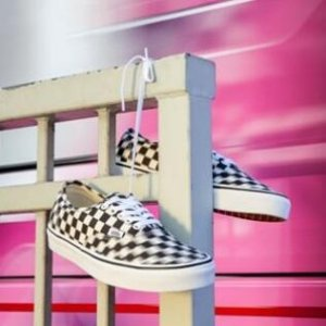 VANS Authentic Checkerboard Shoes