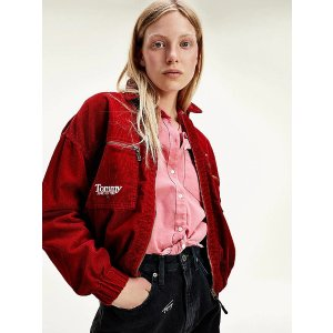 Tommy Hilfiger大红色外套