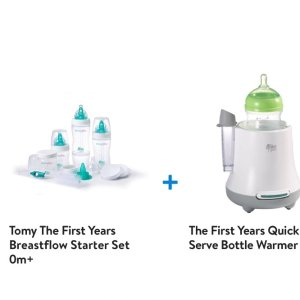 $29The First Years Breastflow Bottle Gift Set & Warmer Bundle