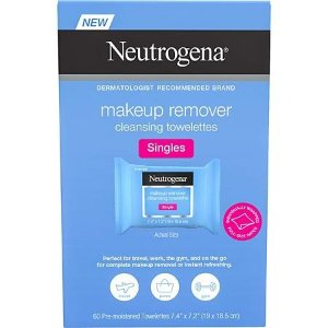 Neutrogena限时闪购 结束时间见商品页 卸妆巾