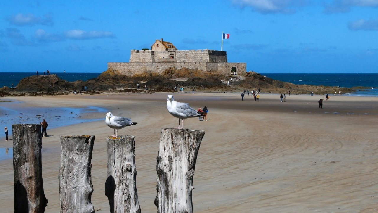 """法国""""海盗城""""圣马洛Saint-Malo旅行攻略,感受布列塔尼大区的别样风光!"""