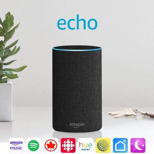 $99.99包邮(原价$129.99)Amazon Echo 2代智能音箱 3色选 你的智能语音管家