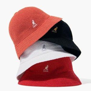 5折起Catch 潮牌渔夫帽、棒球帽专场 Kangol$39收