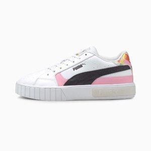 PumaCali 拼色小白鞋