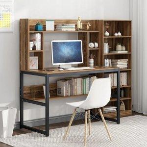 低至4折 现代风格书桌$31.9
